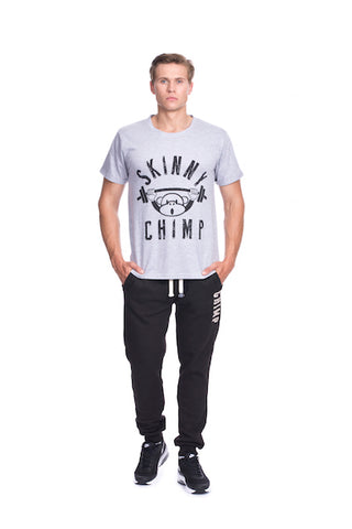 REGULAR FIT CLASSIC CHIMP T SHIRT- Grey