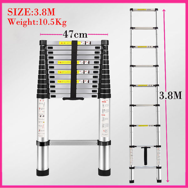 Ladder Collapsible / Retractable Aluminum