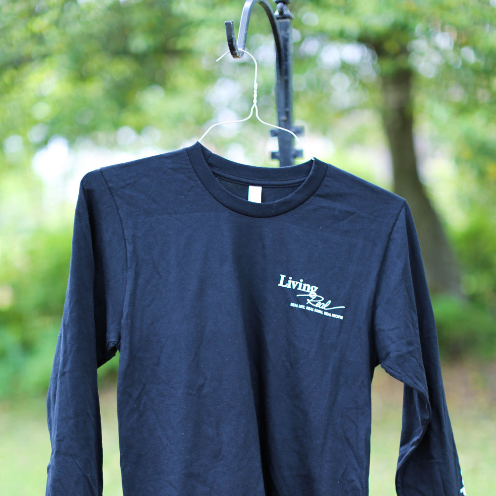Retired Logo Black Long-Sleeve Tee