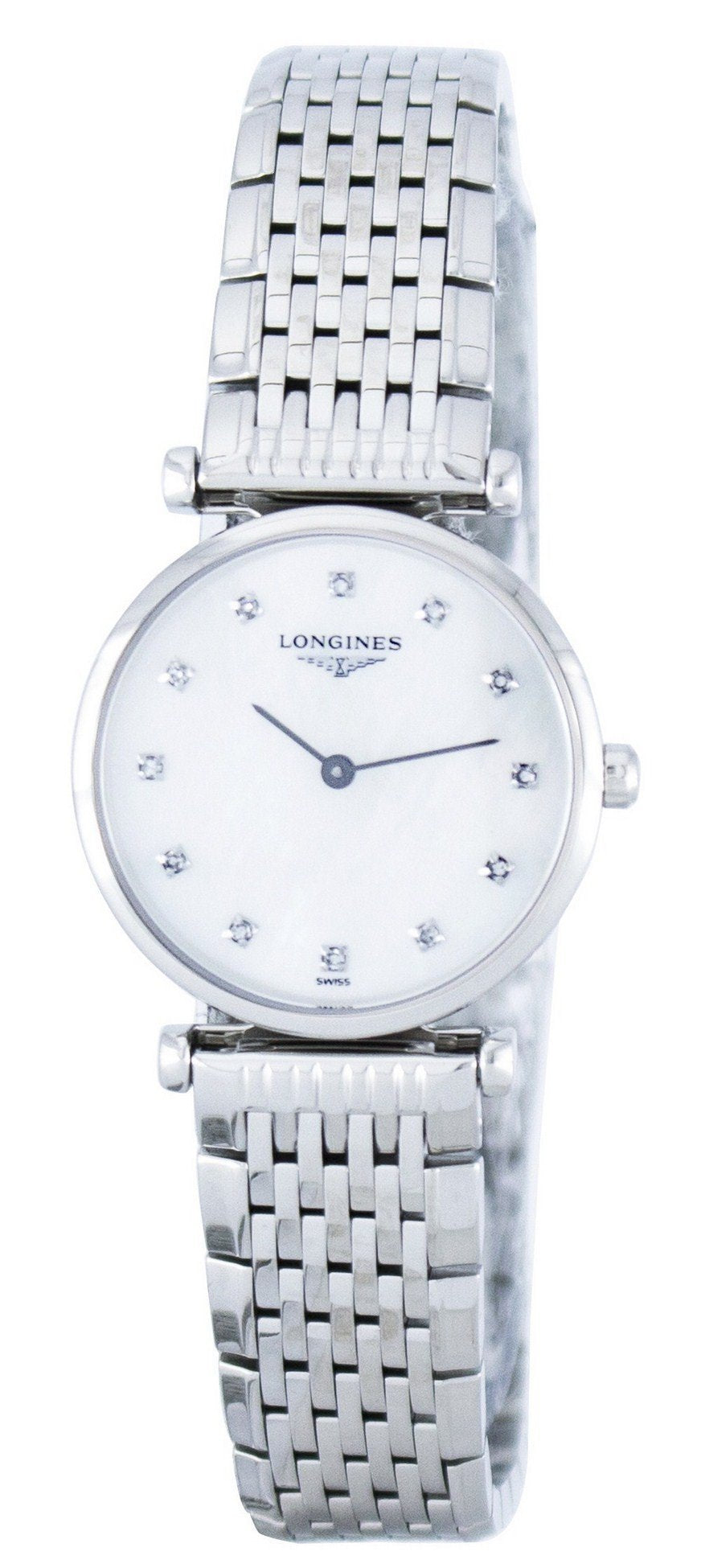 Longines La Grande Classique Quartz Diamond Accent L4.209.4.87.6 Women's Watch