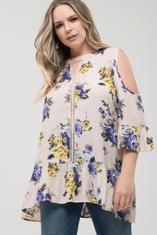 Front Keyhole Floral