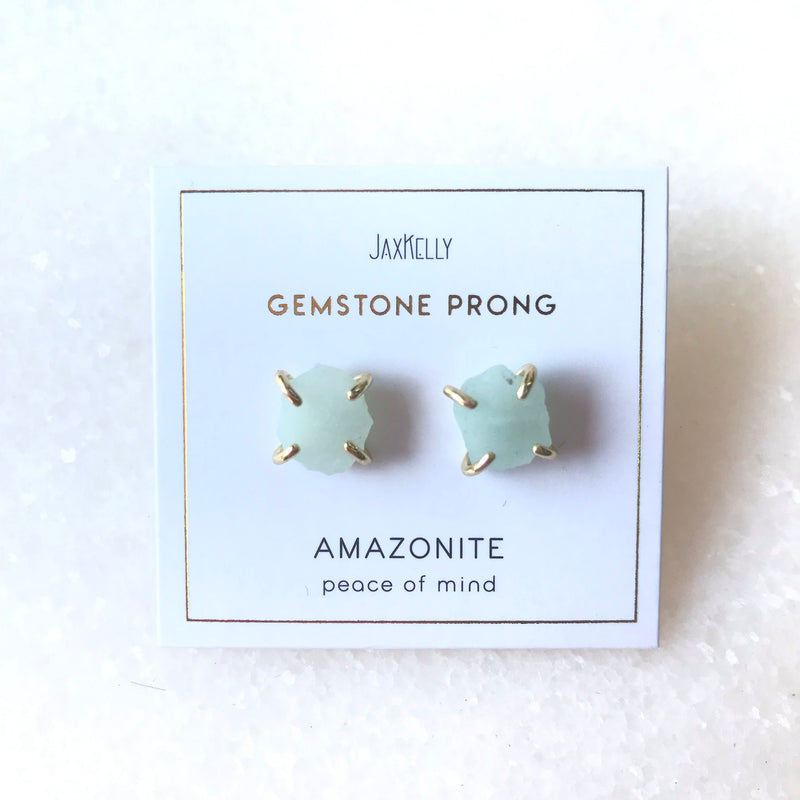 Peace of Mind - Amazonite Earring