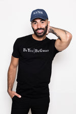 Aci | Nae Men's T-Shirt  Be You | Be Great