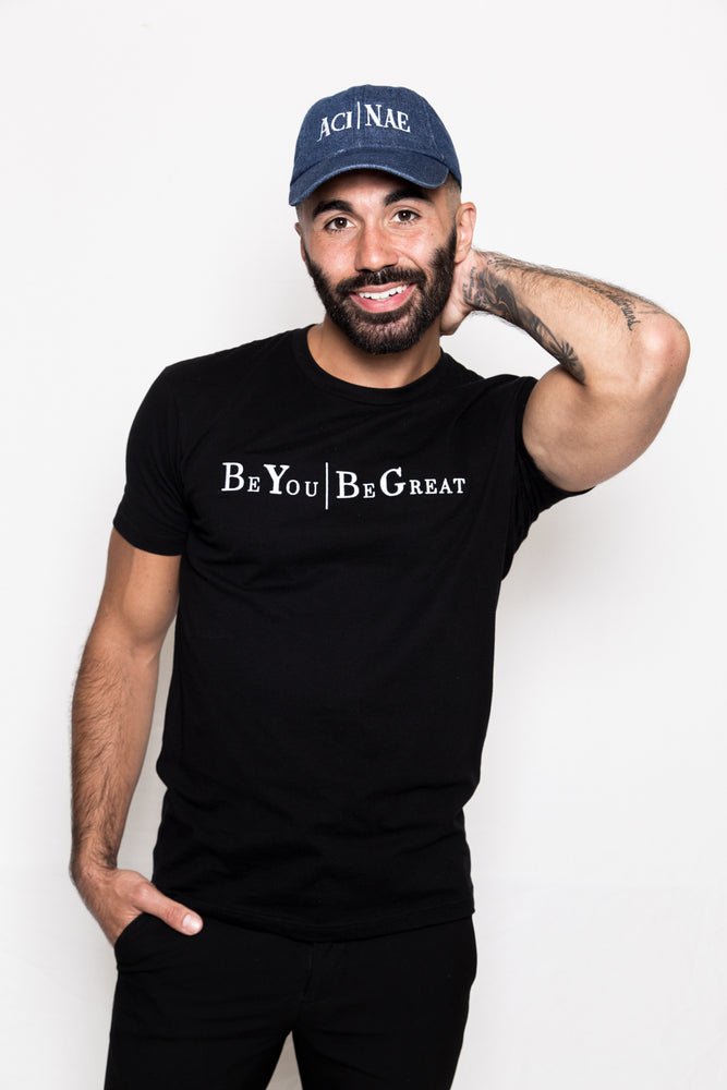Be You | Be Great Embroidered Tee