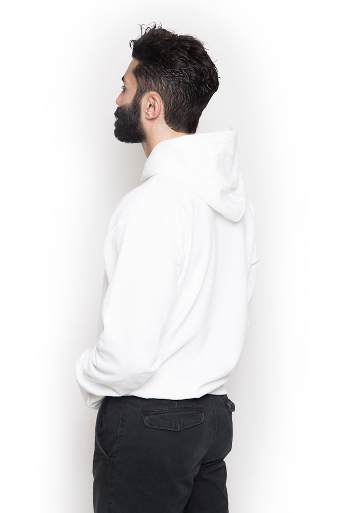 Men's Embroidered Neck Hoodie