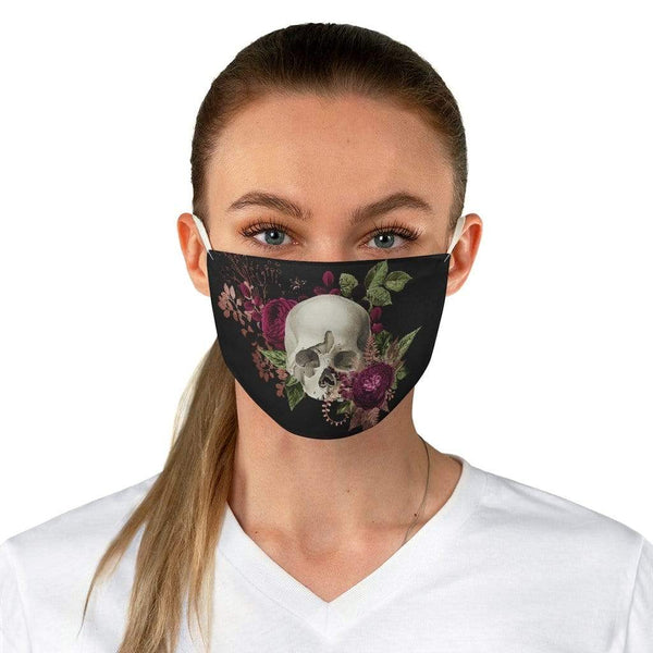 Accessories One size Winey Bitches Co Floral Skull #6 Fabric Face Mask WineyBitchesCo