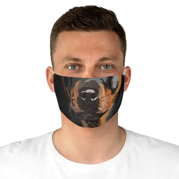 Accessories One size Winey Bitches Co Rottweiler Fabric Face Mask WineyBitchesCo
