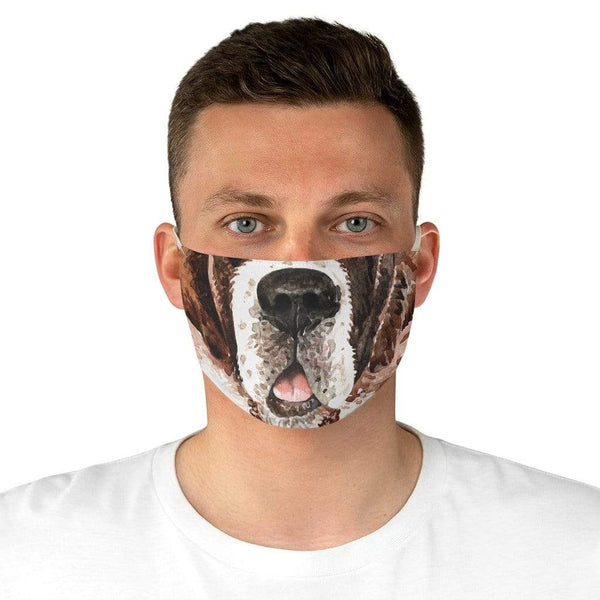 Accessories One size Winey Bitches Co Saint Bernard Fabric Face Mask WineyBitchesCo