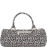 Accessories Winey Wine Clutch Purse- White Cheetah WineyBitchesCo