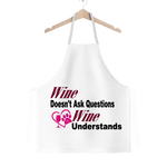 Apparel One Size Wine Understands Collection Classic Sublimation Adult Apron WineyBitchesCo