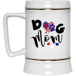 Drinkware White / One Size WineyBitches.Co Forever Red Wine & Blue Beer Stein 22oz. WineyBitchesCo