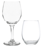 Drinkware Winey Bitches Co Clear Stemed or Stemless Wine Glasses WineyBitchesCo