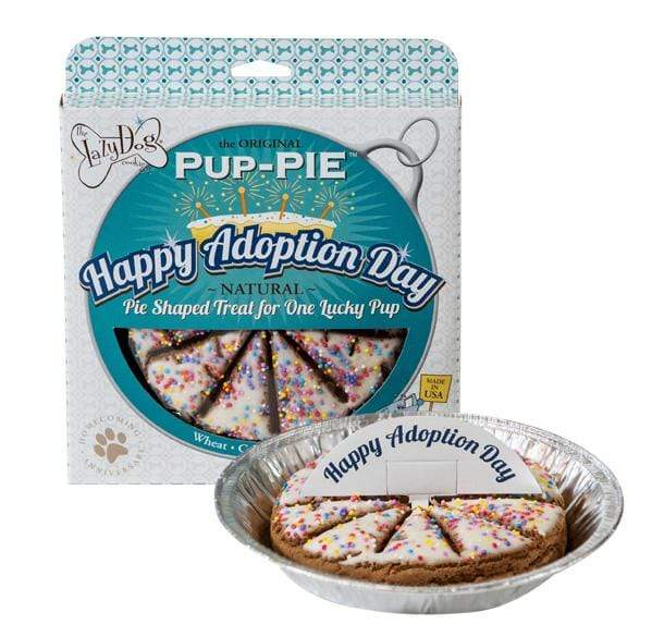 pet treats WineyBitches.Co presents Happy Adoption Day Pup Pie WineyBitchesCo
