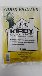 Kirby Bags Universal 6 Pack Odor Control *No Longer Made* - VacuumStore.com
