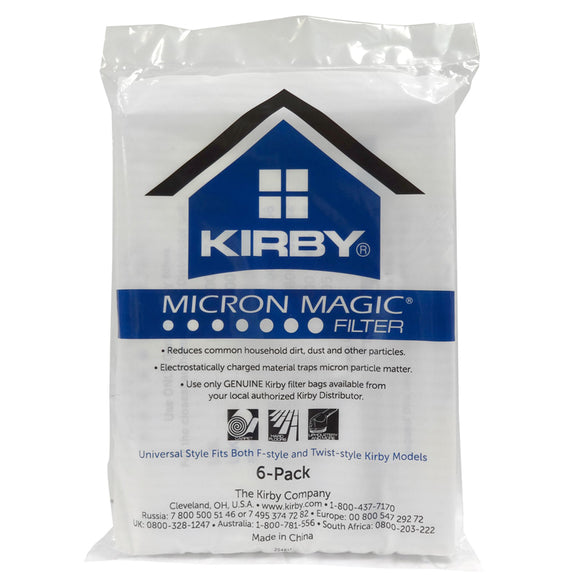 Kirby Bags Universal 6 Pack Micron - VacuumStore.com