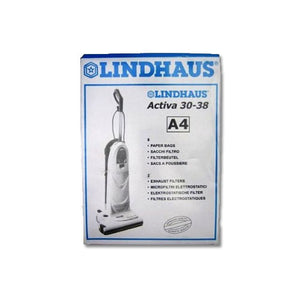 Lindhaus Type A4 Bags 8 Pack - VacuumStore.com