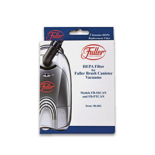Fuller Brush Pleated HEPA Filter for Full Size Canisters
