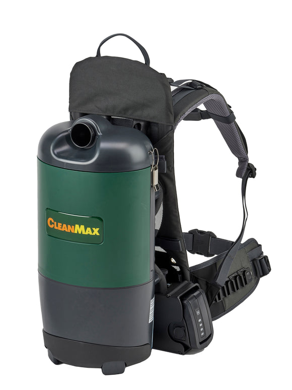 CleanMax Cordless Backpack Vacuum - VacuumStore.com