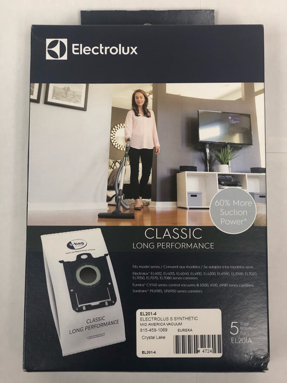 Electrolux S-Bag Classic Long Performance (5-Pack) [EL210A] - VacuumStore.com