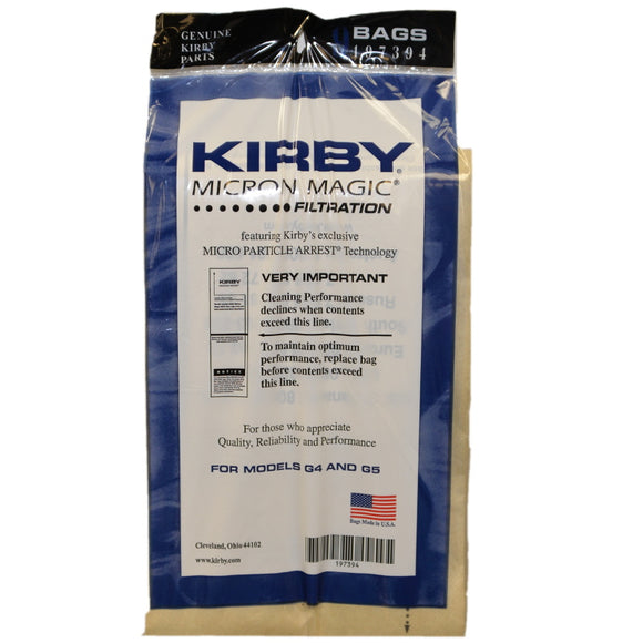 Kirby Bags Generation Series 9 Pack - VacuumStore.com