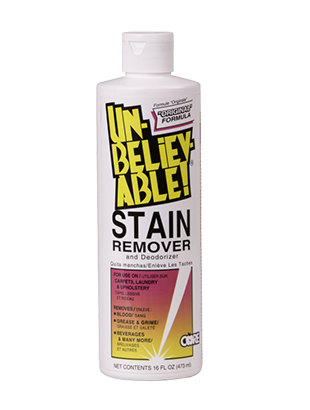 Unbelievable! Stain Remover 16 oz. SR-100 - VacuumStore.com