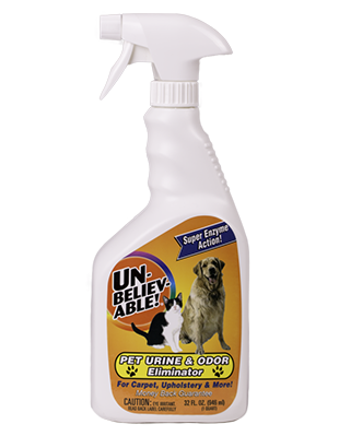Unbelievable! Pet Urine & Odor Eliminator 32 oz. UPUO-32 - VacuumStore.com