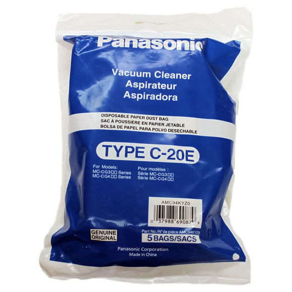 Panasonic Style C-17 and C-20E Bags