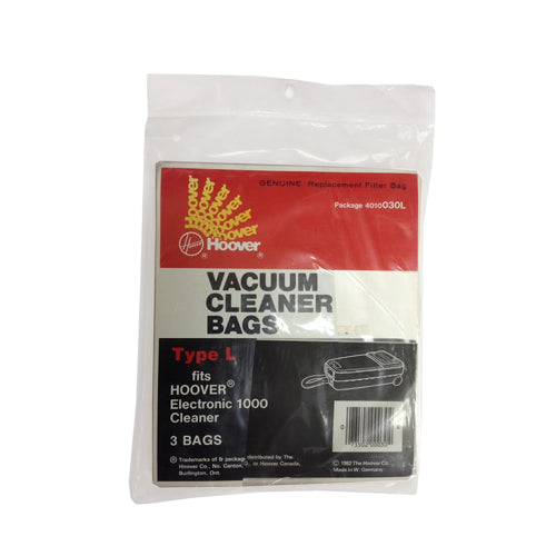 Hoover type L bags pack 3