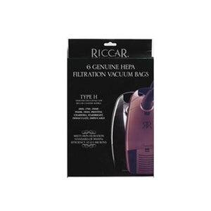 Riccar HEPA Canister Bags 6 Pack for 1400, 1500 , 1700, & 1800 Series