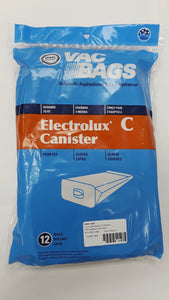 Electrolux Type C Canister Bags 12 Pack - VacuumStore.com
