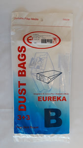 Eureka Type B, S, and M Bags 3 Pack - VacuumStore.com