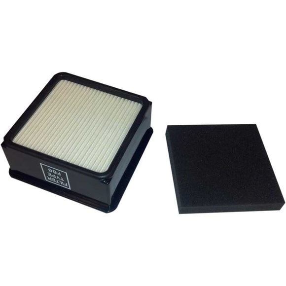 Dirt Devil Type F66 and F59 Filter Set