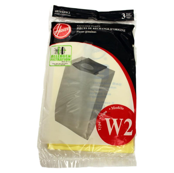 Hoover Type W2 Bags 3 Pack