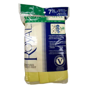 Royal Type V Bags 7 Pack With Filters - VacuumStore.com