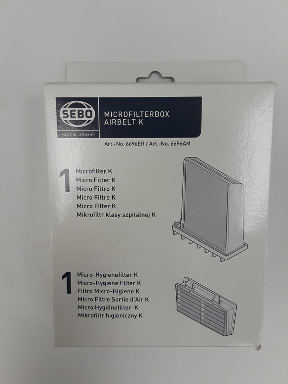 Sebo Filter Set for K Series - VacuumStore.com