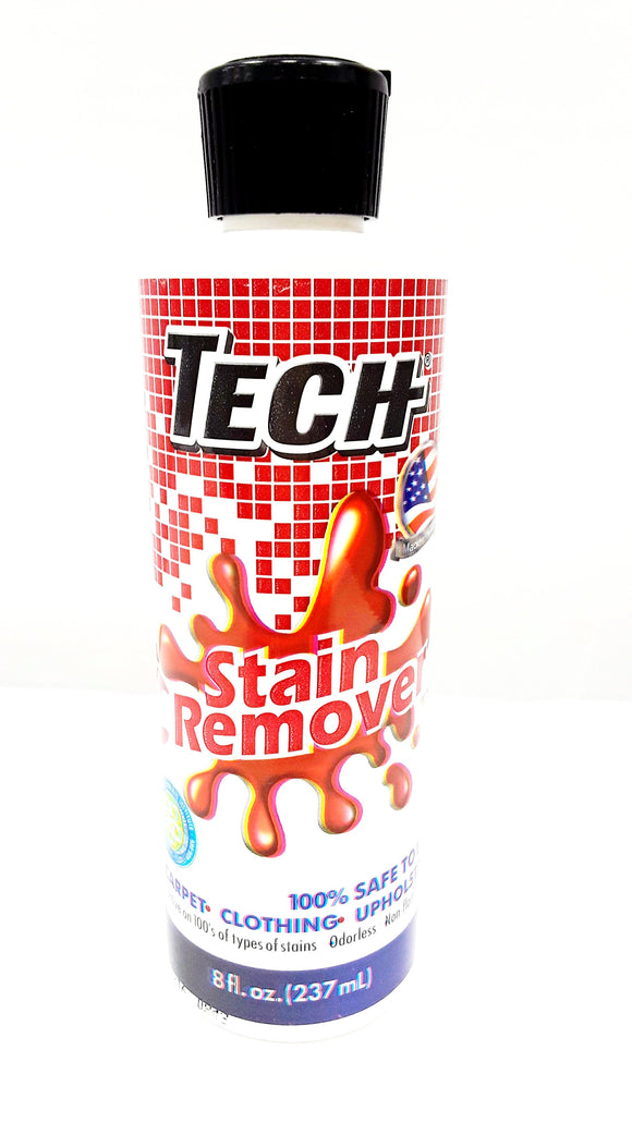 TECH Stain Remover 8 oz. - VacuumStore.com
