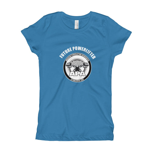 Future Powerlifter Girl's T-Shirt
