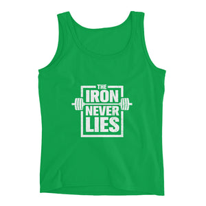 The Iron Never Lies Ladies' Tank