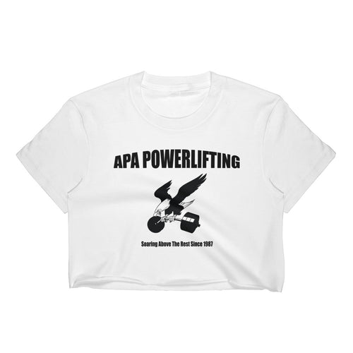 APA - Soaring Above The Rest - Women's Crop Top