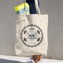APA Bad To The Bone Cotton Tote Bag