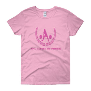 APA Ladies Of Power - Women's short sleeve t-shirt