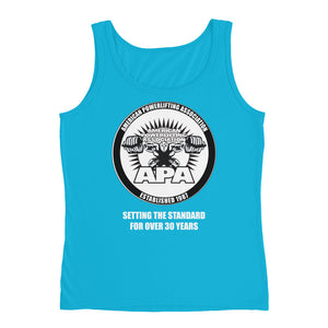APA - Setting the Standards for over 30 year Ladies' Tank