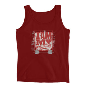 I Am My Motivation Ladies' Tank