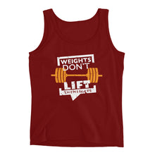 Weights Don't Lift Themselves Ladies' Tank