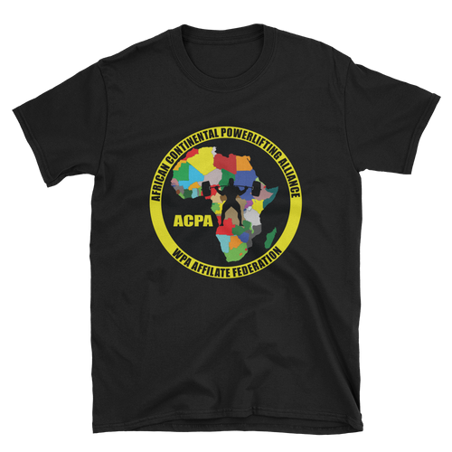 African Continental Powerlifting Alliance Short-Sleeve Unisex T-Shirt