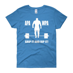 APA Grip it and Rip it Women's short sleeve t-shirt