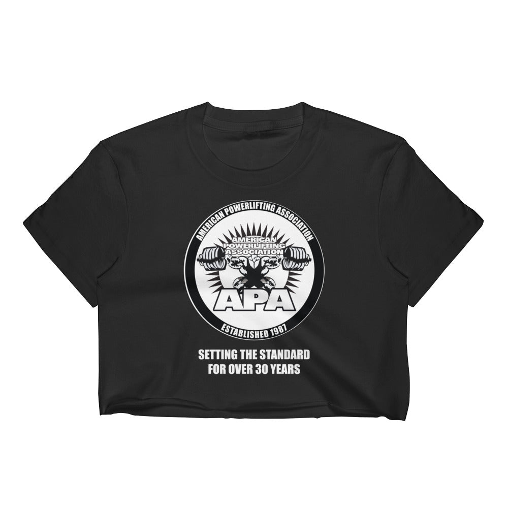 APA - Setting the Standards for over 30 year Women's Crop Top