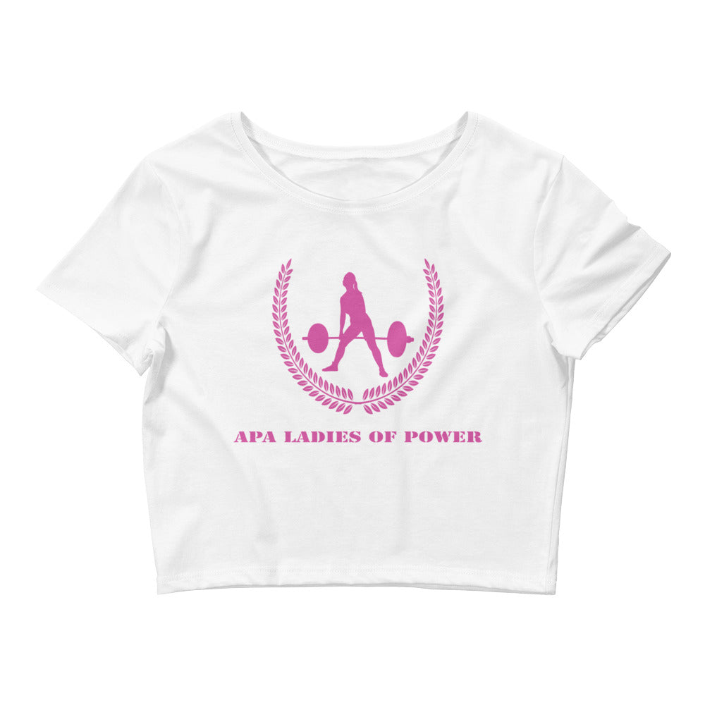 APA Ladies of Power Women's Crop Tee
