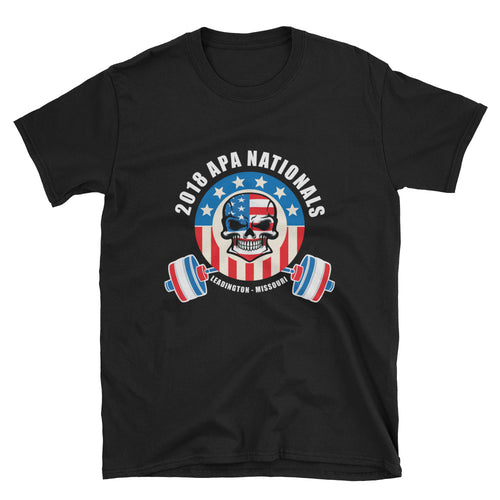 2018 APA Nationals Unisex T-Shirt