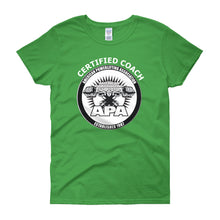 APA Certified Coach Women's short sleeve t-shirt